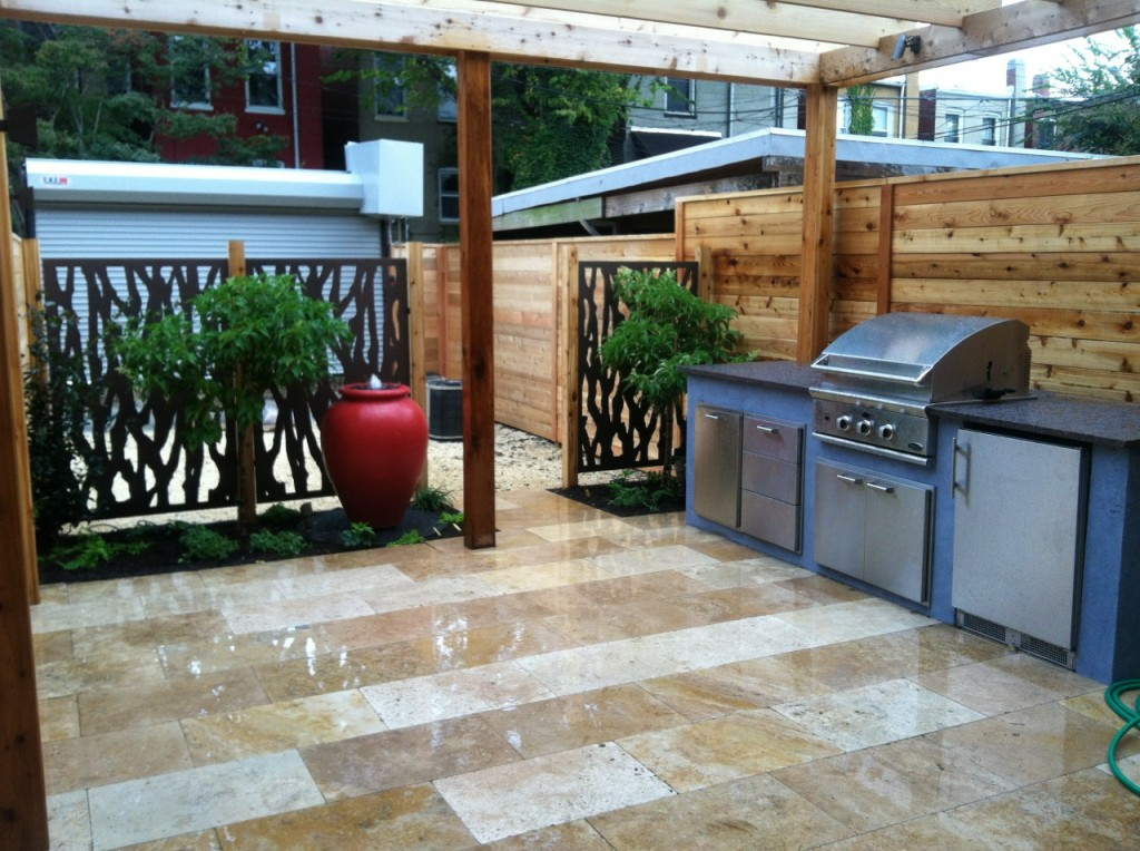 Modern outdoor kitchen new kitchen style for Modern outdoor kitchen designs